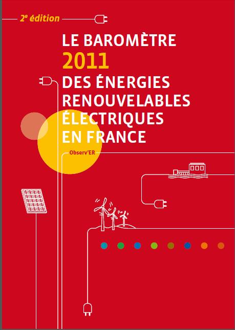 Publication du Baromètre 2011 des énergies renouvelables électriques en France dans ENERGIE Capture4