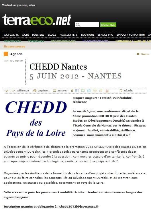 Conférence débat du CHEDD Nantes : dernière ligne droite pour les inscriptions dans SAVE THE DATE Capture2