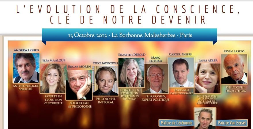 1er Forum International de l'évolution de la conscience - 13 octobre 2012 à Paris dans PHILO Capture