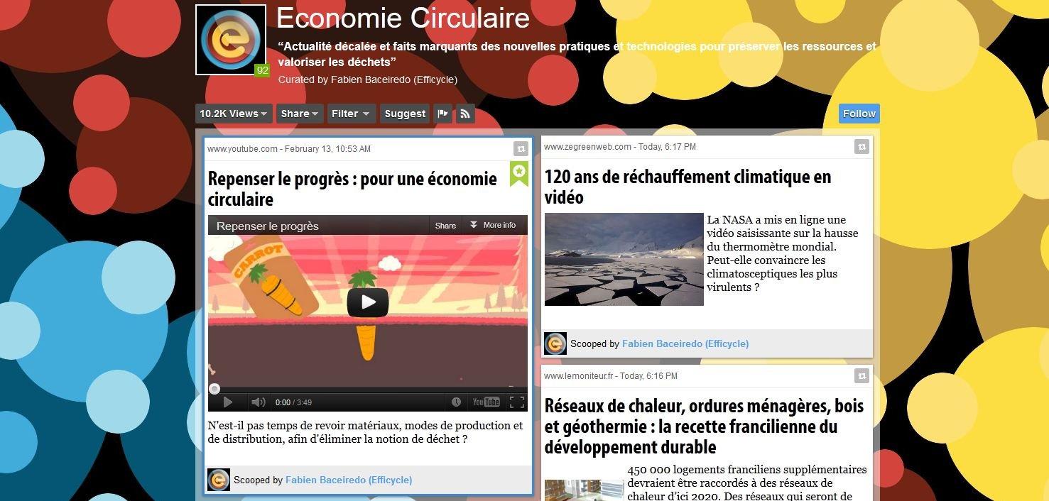 Recommandation de blog : Economie circulaire dans ACTUALITE Capture7