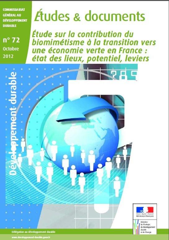 Etude sur la contribution du biomimétisme à la transition vers une économie verte en France dans DEFINITION capture