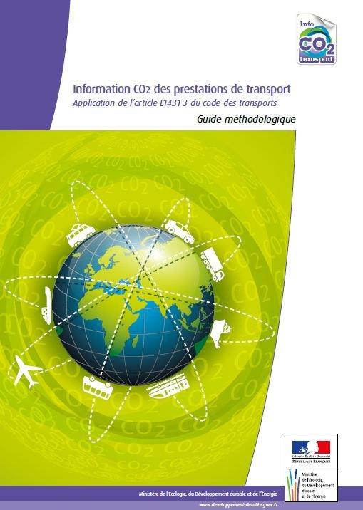 Mise en ligne du Guide méthodologique sur l'information CO2 des prestations de transport dans ACTUALITE capture1