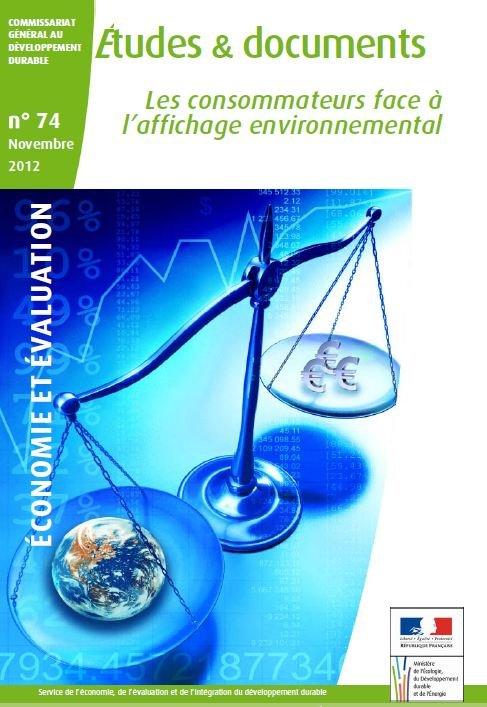 Les consommateurs face à l'affichage environnemental dans GRENELLE capture3