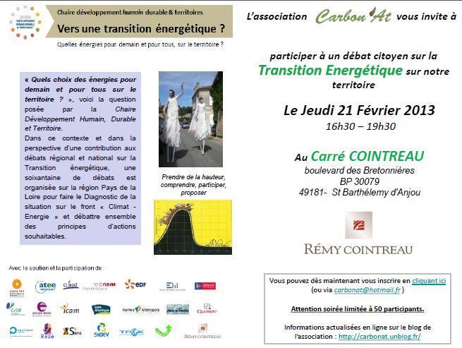 Le 21 février chez COINTREAU - Débat Transition Energétique organisé par Carbon'at dans A L'OUEST capture10