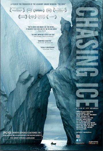 Fonte des glaces : la preuve par l'image selon James Balog dans GES capture7