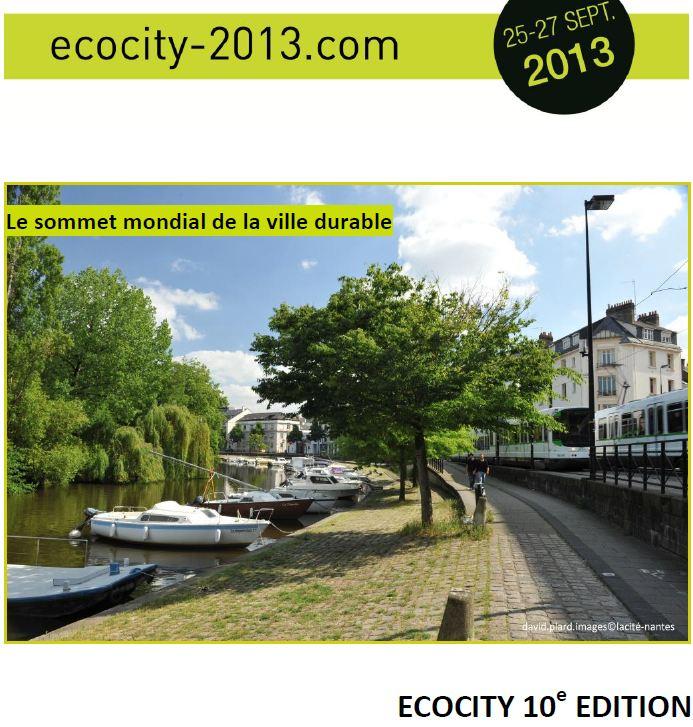 ECO-CITY 2013 : un évènement majeur, à la Cité des Congrès de Nantes du 25 au 27 septembre 2013 dans A L'OUEST capture2