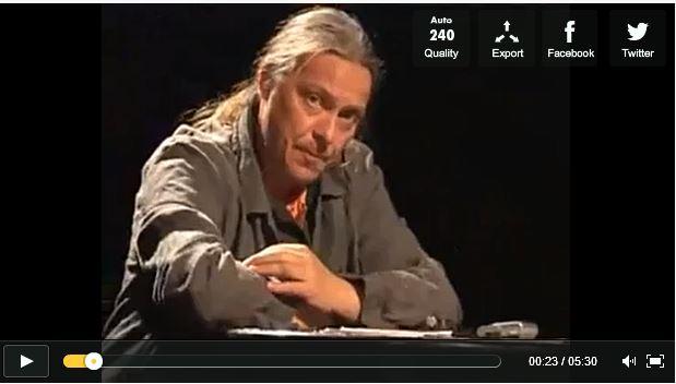 Franck LEPAGE, la langue de bois dans HUMOUR capture9